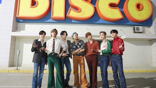 BTS(防弾少年団)ダイナマイト『DYNAMITE』歌詞・和訳
