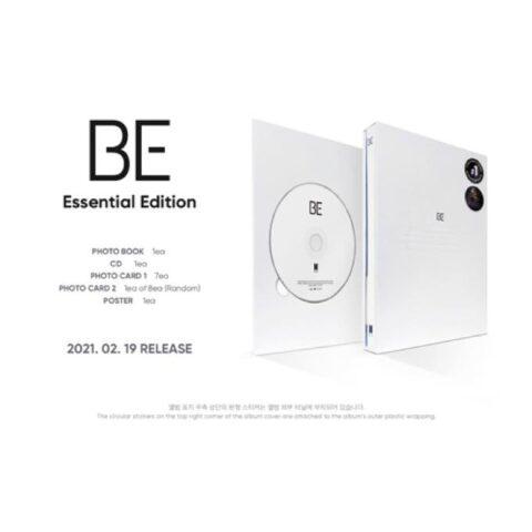 【BTS】アルバム『BE』Essential Edition 特典『メンバーサイン入りInterview Photobook』