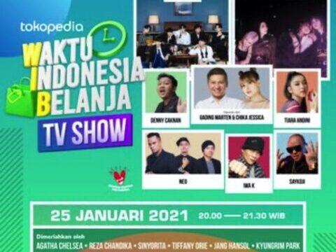 【BTS防弾少年団】インドネシアのテレビTokopedia(トコぺディア)出演