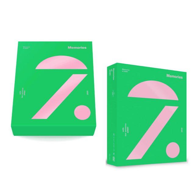 【BTS】メモリーズ 2020 発売決定!予約方法・中身・詳細